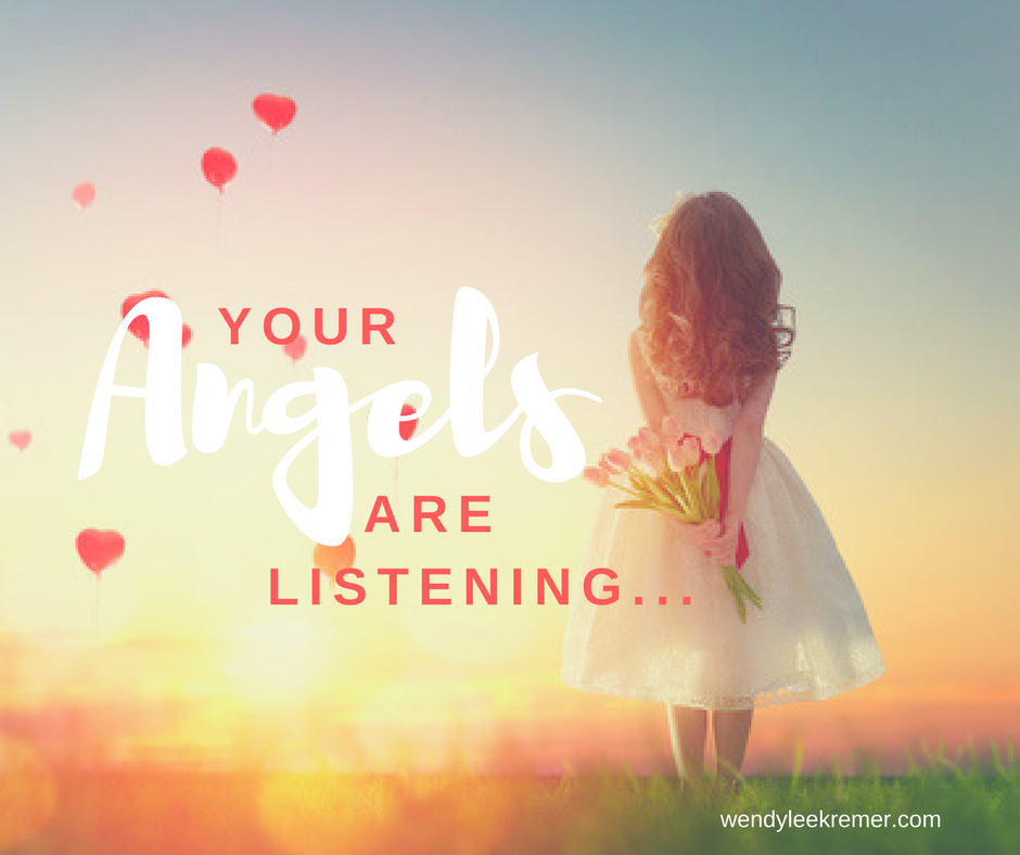 Your Angels Are Listening To God's Word