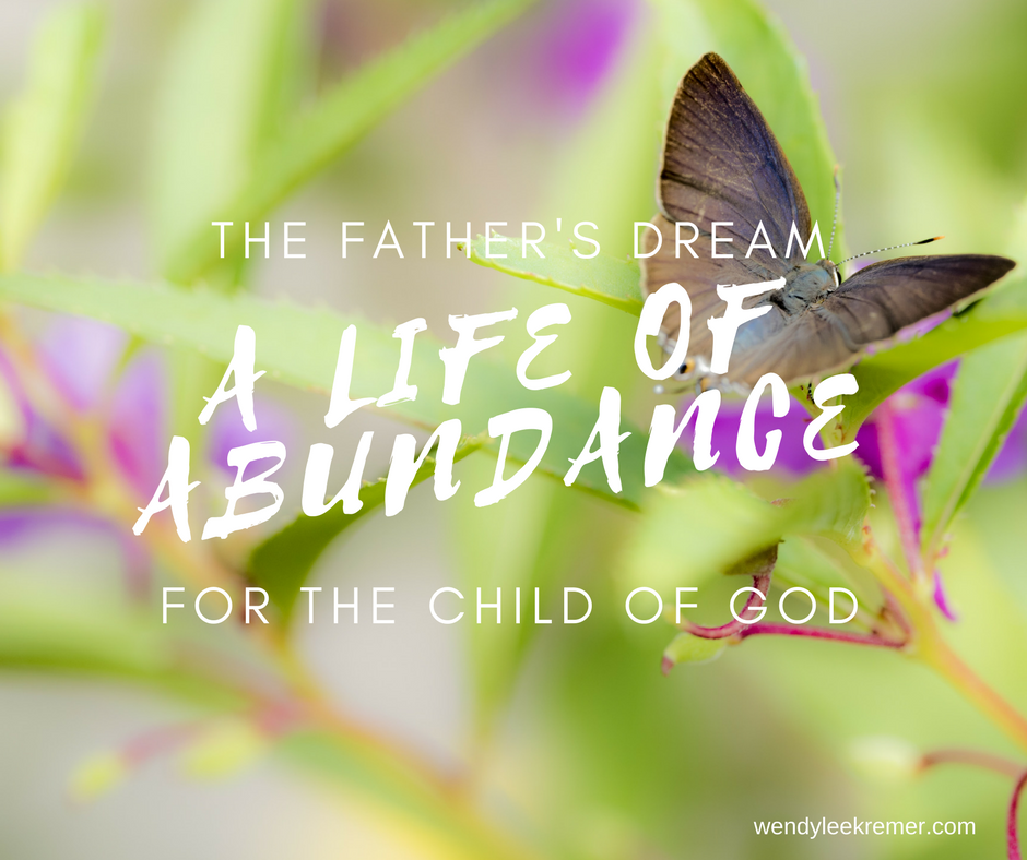 The Father's Dream – A Life of Abundance for the Child of God